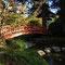 Pont dans le jardin japonais
