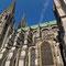 Le Côté Sud de la cathédrale et la chapelle Vendôme