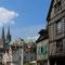 La ville de Chartres avec la cathédrale