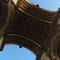 Il soffitto dell'Arco di Trionfo