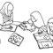 みんなの図書館(シャンティ269号) 2013年 ペン、紙