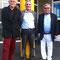 Wolf Doldinger, Jan Cornelius, Hellmuth  Karasek 31. 05. 2014  in Langenfeld