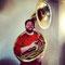 Alex Morsey, Bass, Sousaphon, 23. Mai 2013