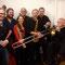 Family of Saxophones:Tom Lorenz, Alex Morsey,Christine Corvisier, Wolf Doldinger, Lutz Rathsfeld, Rolf Drese, Hardy Döhrn, 12. Oktober 2012