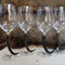 Bordeaux- Glas mit Gamskrucken   Stk.- Preis auf Anfrage!