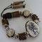 Armband für Männer und Frauen mit Silberrehhaupt, Hirsch-und Rehhorn. Preis auf Anfrage!