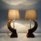 2 Muffel-Widder-Lampen paar. Preis auf Anfrage!