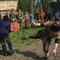 Runa und Brandolf beim Schwertkampf