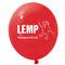 Luftballon. Eines der Merchandisingartikel.