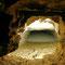 La pente douce d'accès au bunker est injectée depuis 2002.