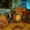 Le bulldozer endormi.