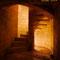 Magnifique escalier en pierre.