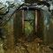 Le puits d'accès avec ses glissières pour le cuffat.