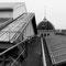 La toiture en zinc. Dessous, la charpente de Mr Eiffel.
