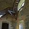Escalier d'accès aux combles.