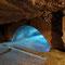 Le haut du tunnel, avant l'injection il avait 15 mètres de hauteur.