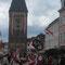 August 2012 Ausflug mit den Praktikantinnen aus Pereslawl nach Speyer zum Brezelfest
