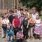 August 2012 Ausflug mit den Praktikantinnen aus Pereslawl