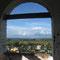 Blick aus dem Glockenturm des Bergklosters in Pereslawl