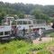 August 2012 Ausflug mit den Praktikantinnen aus Pereslawl nach Heidelberg