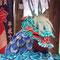 青い大蛇(松尾大社節分祭2017年)