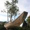 ツァイ・グオチャン「盆栽の船」②(東アジア文化都市現代美術展2017年)