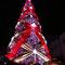 2016年世界一の光のツリー(ピンク)