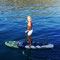 Captain VelaKi on stand up paddle