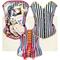 Corsage made by slacks fashion ! Mit abnehmbarem, individuellem Bild. Stoff dafür bitte weiter unten bestellen! With individually design; picture can be take off. Please order picture below