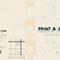 PRINT & ZINE展 DMデザイン