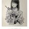 アトリエ「空白」展示『graphiteノ無限回路』 フライヤーデザイン(メインビジュアル:庄司理子さん)