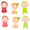 赤ちゃんキャラクターイラスト