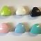 Dreieckskörper - Farben: Gelbgrün, Weiß, Schwwarz, Babyrosa, Babyblau, Türkis