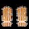 Ohrclips in Rotgold mit Brillanten aus der Himalaja Kollketion der Goldschmiede OBSESSION Zürich und Wetzikon