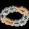 Armband in Rotgold und Edelstahl aus der Gremlin Kollektion der Goldschmiede OBSESSION Zürich und Wetzikon
