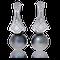 Eternity Ohrclip in Weissgold mit Brillanten und Tahiti-Perlen von der Goldschmiede OBSESSION