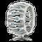 Schmuck Ring in Weissgold mit blauen Brillanten aus der Gremlin Kollektion der Goldschmiede OBSESSION Zürich und Wetzikon