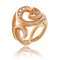 Schmuck Ring in Rotgold mit Brillanten aus der Gipsy Kollektion der Goldschmiede OBSESSION Zürich und Wetzikon