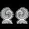 Ohrclips in Weissgold mit Brillanten aus der Gipsy Kollektion der Goldschmiede OBSESSION Zürich und Wetzikon