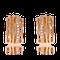 Kreolen in Rotgold mit Brillanten aus der Himalaja Kollektion der Goldschmiede OBSESSION Zürich und Wetzikon