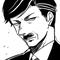 おこ墨田さん、かっこいいおじさん?おじいさん?描けるようになりたい!!!