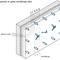 SPA sistēma, četrslāņu panelis ar gaisa ventilācijas slāni