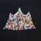 「光る山」 F0キャンバス、刺繍、アクリル、メディウム
