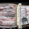 ganz einfach: erst leer, dann 110 Zeichnungen im Zehnerpack drin / 28x15 cm / Pappschachtel, Seidenpapier auf Holz