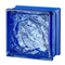 MyMiniGlass 15x15 (14,6x14x6x8) Type Seves MG/s Sophisticated Blue Blau  Glasbausteine Glass Blocks Briques de verre Glasbaustein Glasstein glazen blokken  glasblokke Österreich Schweiz France Nederland Dansk Luxemburg Steklo Bloki Slovenija Wien