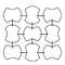 dra Meteore Poesia Ariel Crystal Crystallo Kristall Glasvorhänge Murano Glass Curtains Wien Österreich Luxemburg Schweiz  visual merchandising behang Kristallvorhänge Luxemburg Liechtenstein