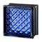 MyMiniGlass 15x15 (14,6x14x6x8) Type Daredevil Seves MG/s Blue Blau Bleu Glasbausteine Glass Blocks Briques de verre Glasbaustein Glasstein glazen blokken  glasblokke Österreich Schweiz France Nederland Dansk Luxemburg Steklo Bloki Slovenija Wien