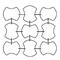 Idra Meteore Poesia Ariel Crystal Crystallo Kristall Glasvorhänge Murano Glass Curtains Shop Deco Glas Vorhang Bühnenvorhänge Glaselemente Innendekoration Cristal Modularelemente Glasgardinen Kristallvorhänge Raumteiler visual merchandising Glasbehang Wie