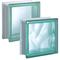 Bild: Design Pegasus Q19 Glasbaustein Glasstein Glass Blocks Glasbausteine-Center Glasbausteine-Center.de Glassteine Glasbausteine Clearview Vollsicht Wave Wolke Green Grün Verde  Briques Blocs de verre Bloques de vidrio  Blocos de vidro Glasblokke glass