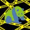 『Panda is the disappearance...』 絶滅危惧種保護ポスター ジャイアントパンダを地球に見立ててみた    2011.11.17 美術リテラシー(DTP)にて Illustrator